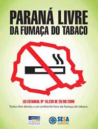 Paraná livre do tabaco